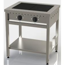 Плита електрична двоконфоркова, сталь ОПТІМА ПЕ-2 АРТЕ-Н, 8341.00 грн