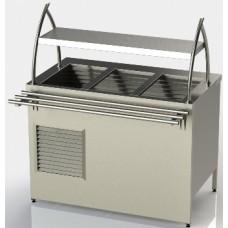 Прилавок холодильний без охолоджуваного боксу з однією полицею, довжина 1500 ПХ-1 АРТЕ-Н, 39053.00 грн