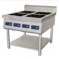 Індукційна плита 4-х комфорочна 35-KP4N FROSTY, 26708.00 грн