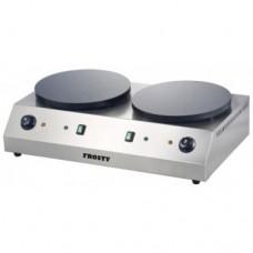 Млинниця електрична, подвійна ø400 мм VP-2Y40 FROSTY, 9737.00 грн