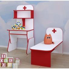 Меблі ігрові ЛІКАРНЯ для дитячого садка Хаттор, 1678.00 грн