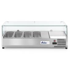 Вітрина для топінгу 4xGN 1/3, L1200 - надставка холодильна Hendi, 16807.00 грн