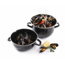 Каструля для мідій з кришкою,  3 л, Ø210 мм Hendi, 447.00 грн