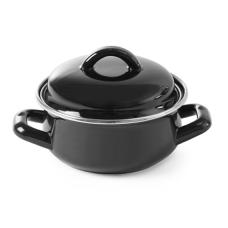 Каструля для супів і соусів - чорна, 0,6 л, Ø135x (H) 103 мм Hendi, 417.00 грн