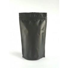 Дой Пак Фольгований з застібкою, чорний, 180х280 Hualian, 5.10 грн