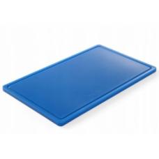Дошка обробна 530x325x15, синя HACCP GN 1/1 Hendi, 721.00 грн