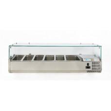 Вітрина для топінгу, 6 гастроємностей G-VRX1500-380 Forcold, 18433.00 грн