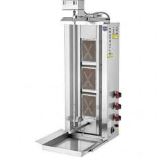 Апарат для шаурми газовий з приводом, 40кг  D15 LPG REMTA, 8341.00 грн
