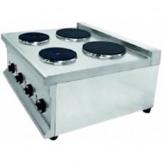 Плита електрична на 4 конфорки, RAUDER CPE-650-4T, 15027.00 грн