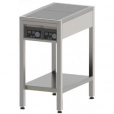 Плита індукційна , 2-х конфорочна, 3,5 кВт,  підлогова, СТЕЛЛАР, $15640