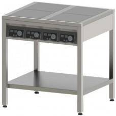 Плита індукційна , 4-х конфорочна, 3,5 кВт,  підлогова, СТЕЛЛАР, $30940