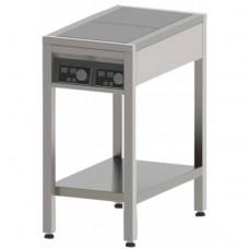 Плита індукційна , 2-х конфорочна, 3,5 кВт,  підлогова, СТЕЛЛАР (360x380), $19690