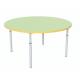 Стіл дитячий круглий регульований по висоті Ø22 в Ø27 з кольоровим декором