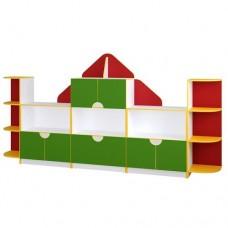 Дитяча стінка для іграшок Хатка Хатор (Україна), 6557.00 грн