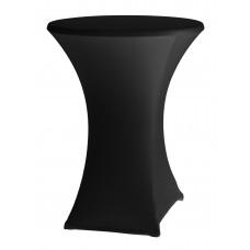 Скатертина кругла - ø800-850x1050-1150 - чорна Hendi, 709.00 грн