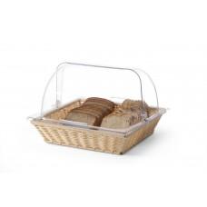 Кошик сервірувальний, для хліба і булочок з кришкою Rolltop GN 2/3 Hendi, 1573.00 грн