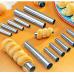 Металеві форми для випікання трубочок 6 шт Martellato (Італія), 244.00 грн