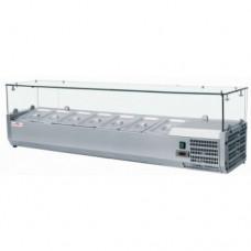 Вітрина для топінгу 10 GN 1 / 4-150 FROSTY VRX2000/330 Італія, 14958.00 грн