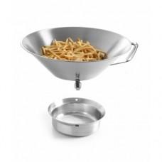 Друшлак-сільничка для картоплі фрі Ø410 мм Hendi