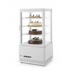 Вітрина холодильна настільна  68 л - біла HENDI, 15765.00 грн