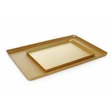 Піднос кондитерський, золотий, 400x300x(H)20 мм HENDI, 523.00 грн