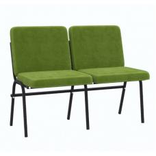 Крісло для актового залу 2-місне, тканина Тревісімо Дует, 841.00 грн