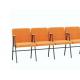 Крісло для актового залу 5-місне з підлокітником, тканина Тревісімо Квинтет