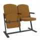 Крісло для актового залу 2-місне, тканина Саванна Класіко F-стійка Дует