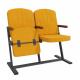 Крісло для актового залу 2-місне, тканина Алоба Класіко F-стійка Дует