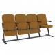 Крісло для актового залу 4-місне, тканина Саванна Класіко F-стійка Квартет
