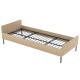 Ліжко дитяче односпальне з металевими ламелями