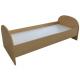 Ліжко для дитячого садка односпальне Півклугле