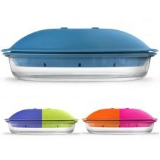 Форма ZEST Glass Borcam 1.84л для запікання на пару в мікрохвильовій печі, 523.91 грн