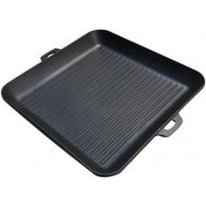Сковорода-гриль чавунна НАША МАЙСТЕРНЯ 35х35см з двома литими ручками, 497.00 грн