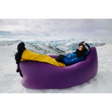 Надувне крісло-лежак, фіолетове - 968470696, 546.00 грн