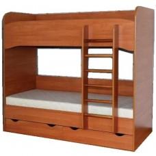 Ліжко дитяче ЛЕТРО, 2-х ярусне без ламелей, 5547.00 грн