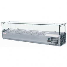 Вітрина для топінгу VRX1200/330 FROSTY Італія, 11671.00 грн