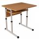 Парта шкільна Аудит 20х20 в 25х25 1-місна регульована по висоті і куту нахилу стільниці