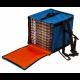 Сумка-рюкзак для піци термічна на 10 коробок  Ø 33 GI.METAL BTZ3340 (Італія)
