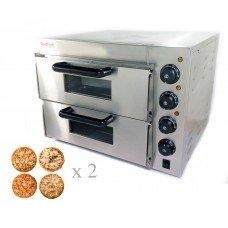 Піч для піци 2х4, d=20см електрична GoodFood PO2, 12553.00 грн