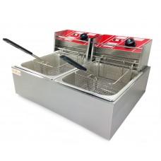 Фритюрниця подвійна електрична професійна GoodFood EF66, 3772.00 грн