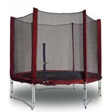Батут с защитной сеткой KIDIGO MAROON 244 см (61008), 8500.00 грн