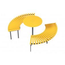 Скамейка Солнце со столиком Kidigo (31609), 8715.00 грн