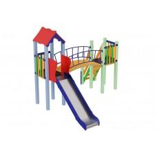 Детский комплекс Солнышко, высота горки 1,2 м Kidigo (11323), 41020.00 грн